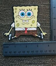 Spongebob Square pants printed die cut with layer of glitter accents