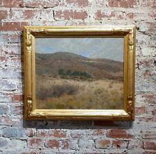George Gardner Symons-Hills at Laguna Canyon-CA Impressionist c1910-Oil Painting