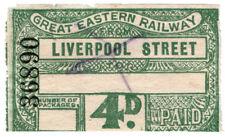 (I.B) Great Eastern Railway : Parcels Service 4d (Liverpool Street)