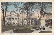 Rome New York Gansevoort Monument Court House Antique Postcard K43495