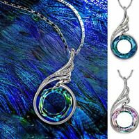Women's Jewelry Gift Necklace Nirvana of Phoenix Fashion Pendant 2Colors Crystal