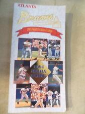 1994 Atlanta Braves Media Guide READ!!!