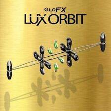 GloFX Lightshow Orbit - 4 microlights - reversible dual orbital spinning rave