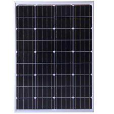 100W Mono PV Solar Panel for charging 12v or 24v battery system for Caravan Boat