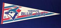 1980s MLB Toronto Blue Jays 12x30 Felt Pennant Poster NEW Old Stock (A7)