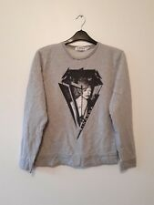 """Topman Homme Gris """"RIHANNA"""" pull taille L"""