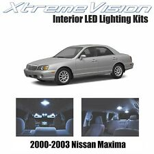 XtremeVision LED for Nissan Maxima 2000-2003 (7 Pieces) Cool White Premium Inter
