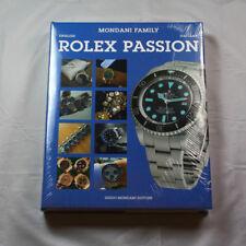 Collectible Guido Mondani Editore 2017 Rolex Passion English/Italian NEW