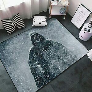 Star Wars Darth Vader Rugs Area Rug Living Room Bedroom Flannel Floor Mat Carpet