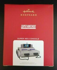 2021 Hallmark Keepsake Super Nintendo NES Console Ornament Magic Light & Sound