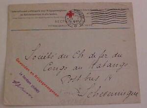 NETHERLANDS  POW  KATANGA 1917 RED CROSS
