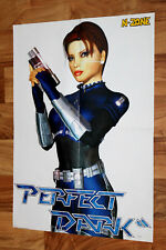 Perfect Dark 2000 Nintendo 64 N64 / Pokemon Rare Poster 56x40cm