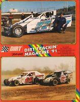 Dirt Trackin Magazine John Flach & Alan Johnson Vol.12 No.10 1991 052118nonr