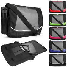 """SumacLife Canvas Laptop Shoulder Messenger Bag For 15.6"""" Samsung Chromebook 4+"""