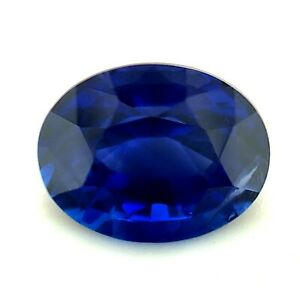 1.15ct Royal Blue Sapphire from Ceylon, VS, Heated,Natural Gemstone *Video*