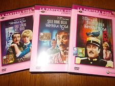 LOTTO 3 DVD LA VENDETTA DELLA PANTERA ROSA UNO SPARO NEL BUIO SULLE ORME ...