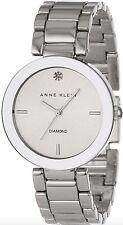 Anne Klein Watch * 1363SVSV Diamond Silver Steel Women MOM17 COD PayPal