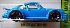 Hot Wheels 2015 HW Workshop Porsche 934 Turbo RSR Blue HW Garage 1:64