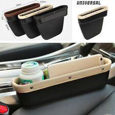 1x PU Leather Car Seat Crevice Gap Storage Box Organizer Card Cigarettes Holder