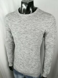 SELECTED HOMME EDLER HERREN PULLOVER STRICK gr. L TRENDY MEN MODERN ROYAL NEU
