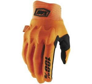 100% Cognito Gloves - Flo Orange/Black - All Sizes