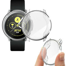 TPU Soft Clear Cases For Samsung Galaxy Watch Active Covers Protector Shell aa