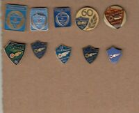 10 pin pins badge football FC ZELJEZNICAR SARAJEVO Bosnia Herzegovina Yugoslavia