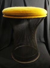 Vintage Knoll Platner Wire Stool All Original With Tag