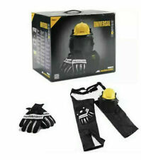 More details for mcculloch chainsaw protective starter kit chaps helmet ear-protectors gloves ppe