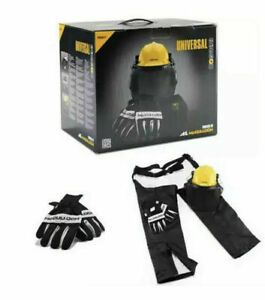 McCulloch Chainsaw Protective Starter Kit Chaps Helmet Ear-protectors Gloves PPE