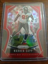 Warren Sapp 2019 Prizm Rare Retail Red / 10 SSP