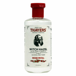 Thayers Witch Hazel Aloe Vera, Rose Petal - 12 fl oz FRESH, FREE SHIPPING