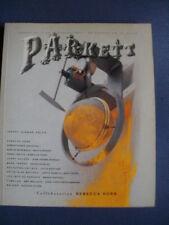 PARKETT N° 13 collaboration Rebecca Horn