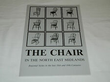 The Chair in the North East Midlands 18/19c B Cotton 1987 History Lincs Notts