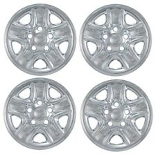 "2007-2017 TOYOTA TUNDRA 18"" 5-spoke Steel Wheel Cover Skin CHROME SET Covers"