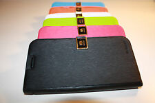 Flip Leather Stand Hybrid Hard Skin Pouch Wallet Case Cover For Samsung S3/4