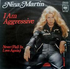 "7"" 1976 CBS BLITZ MINT- ! NINA MARTIN : I am Agressive"