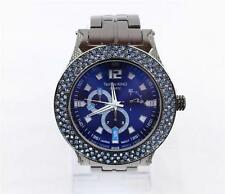 Techno King Iced Out Bling Rhinestone CZ Stainless Steel Watch Hip Hop 52S00197