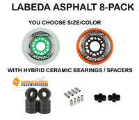 Labeda Gripper Asphalt Outdoor Inline Roller Hockey Wheels with Ceramic Bearings