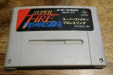 SUPER FIRE PRO WRESTLING    - SHVC-FP       ---- pour SUPER FAMICOM
