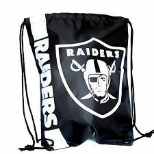 Oakland Raiders Drawstring Bag NFL Football Officially Licensed Gym Tote