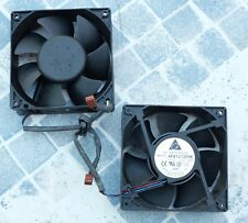 Delta Electronics  AFB1212SHE 12V 1.60A 3 pin  120 mm lot de 2 - set of 2