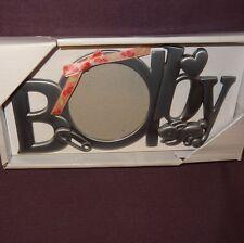 "Baby Metal Picture Frame 2"" Nursery Malden Silver Tone Bunny Rabbit Boy Girl"