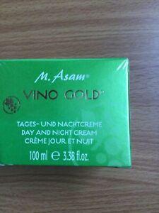 M. ASAM VINO GOLD DAY AND NIGHT CREAM 100 ml 24-hour moisturizing cream ANTI-AGE