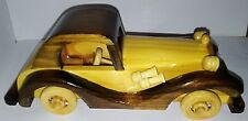 Wooden Toy Car 2
