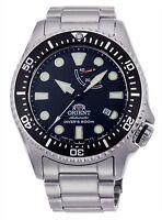F/S RA-EL0001B ORIENT Scuba 200m Diver's Automatic Men's Watch Black from japan