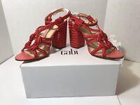 CABI Tiptoe Vibrant Rope 6012 Sandals  Sz 9 Heels BRAND NEW! Retails $139