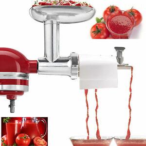 For Kitchenaid Mixer Tomato Juicer Attachment Vegetable Tomato Juice Extractor