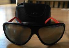 Neuve lunettes de soleil FOSSIL cleveland noir branche rouge