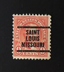 St. Louis, Missouri Precancel - 9 cents Jefferson (U.S. #641) MO